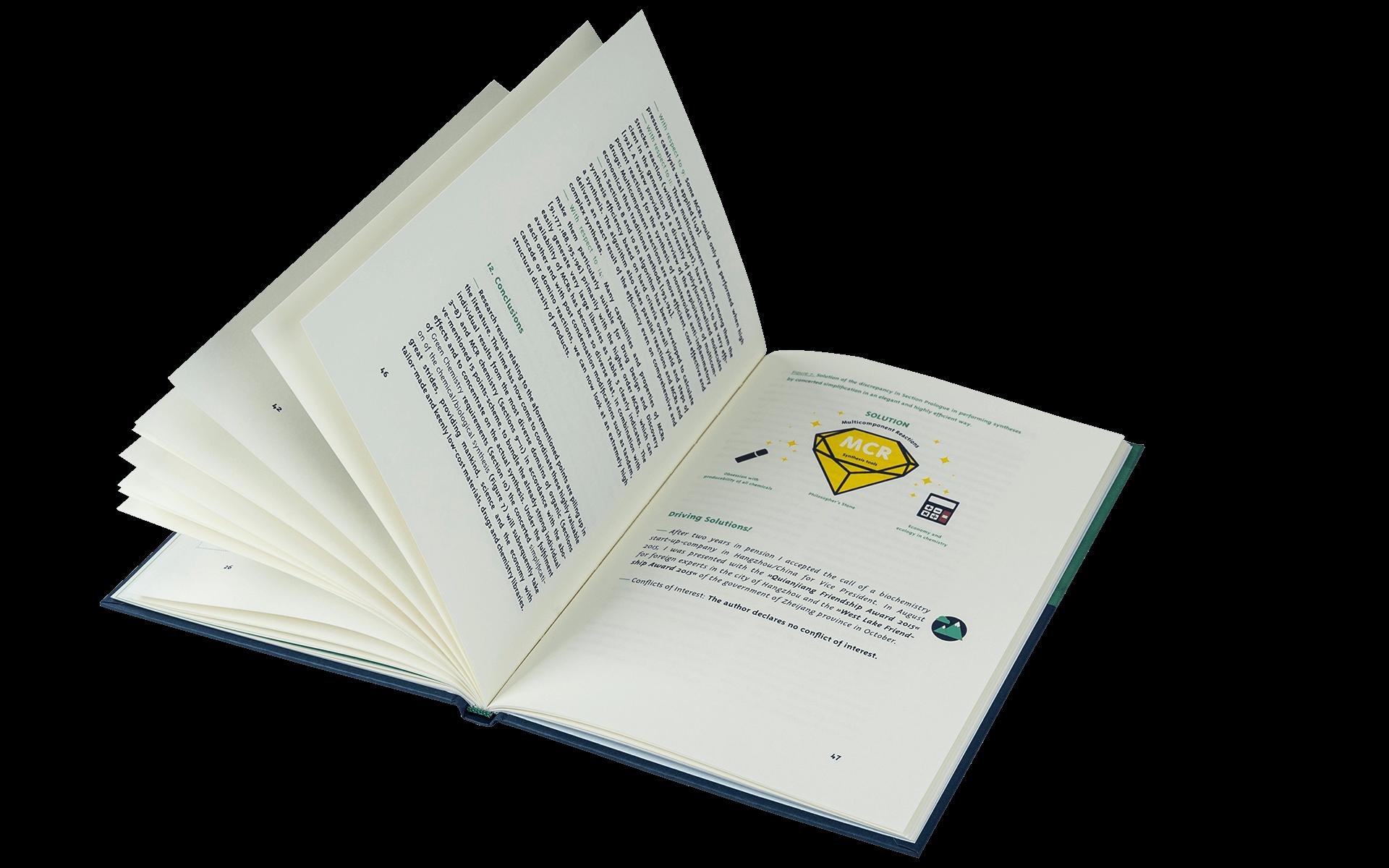Denken Handeln Buchgestaltung Cover Innensatz Layout Infografik Fine Heininger Wolff Verlag Heiner Eckert Grafik Design Gestaltung