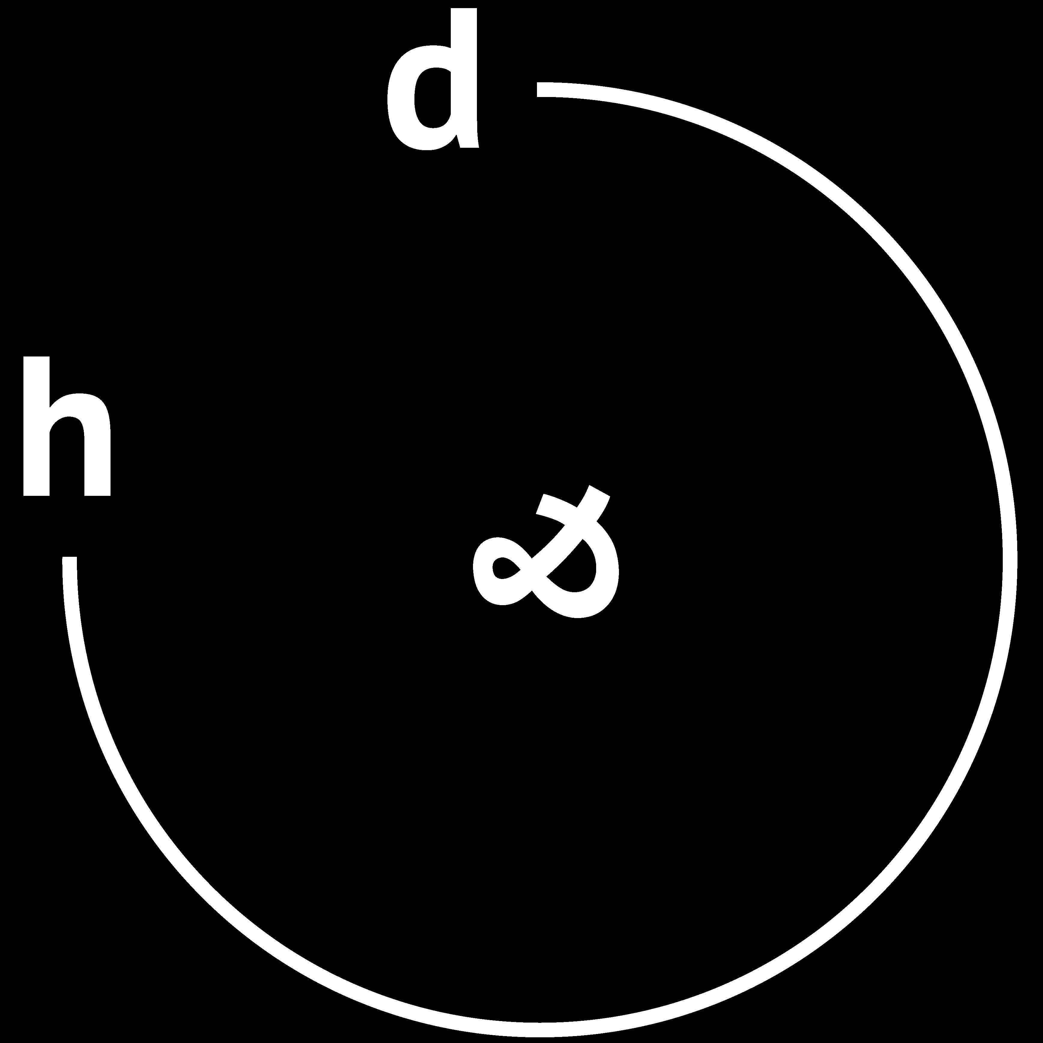 Denken & Handeln Logo weiß